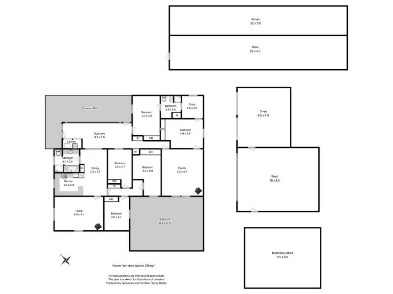 72 Flinders Bay Road, Murdunna TAS 7178 Floorplan