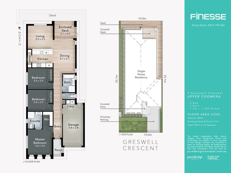 9 Gresswell Crescent, Upper Coomera QLD 4209 Floorplan