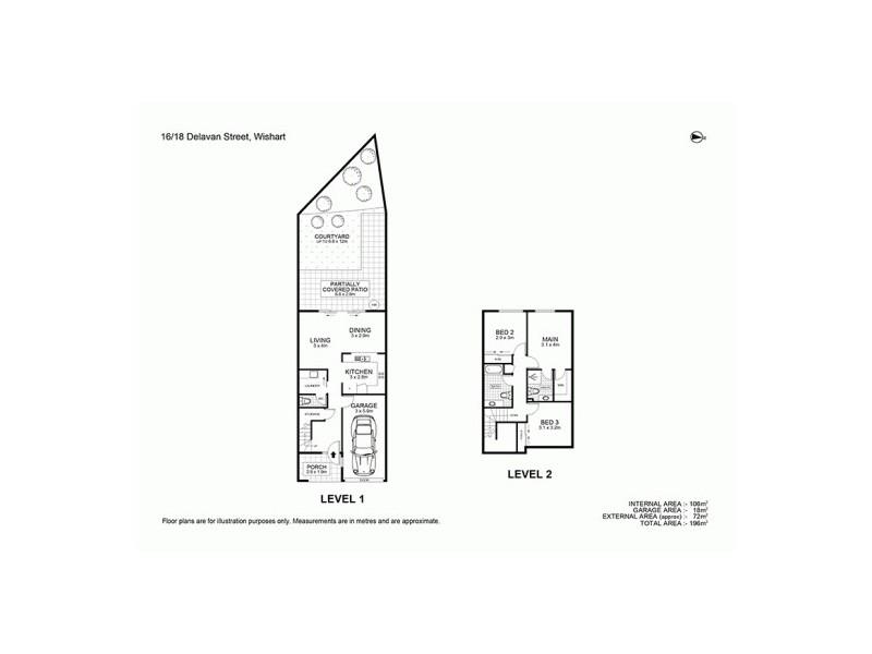 16/18 Delavan St, Wishart QLD 4122 Floorplan