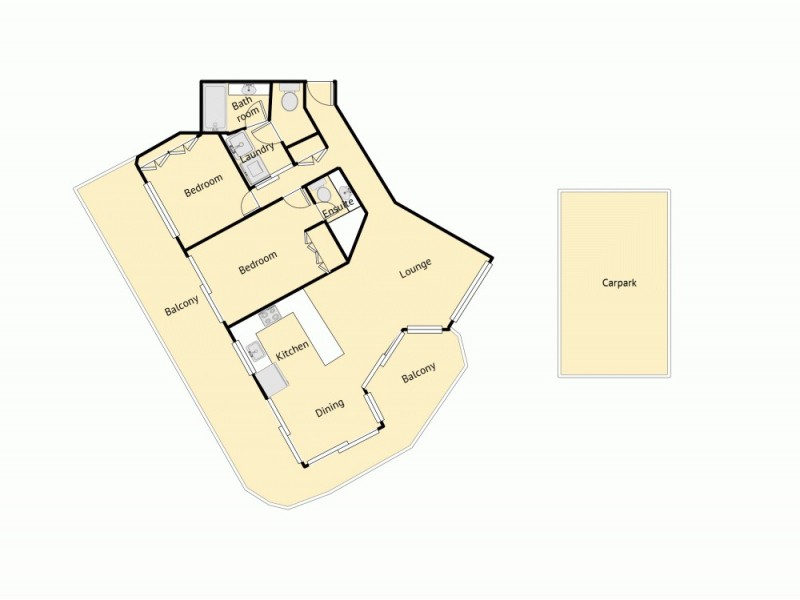1/30 Esplanade Headland, Kings Beach QLD 4551 Floorplan