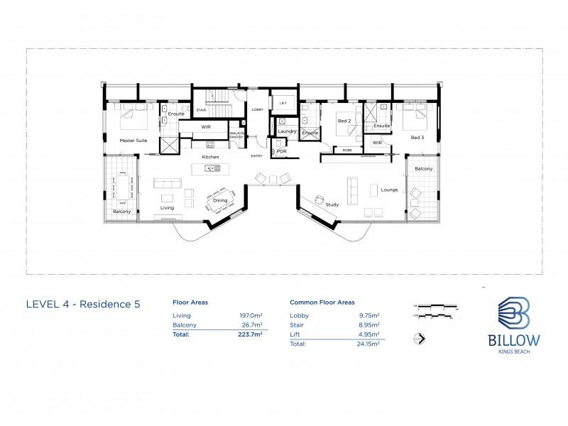 43 Verney Street, Kings Beach QLD 4551 Floorplan