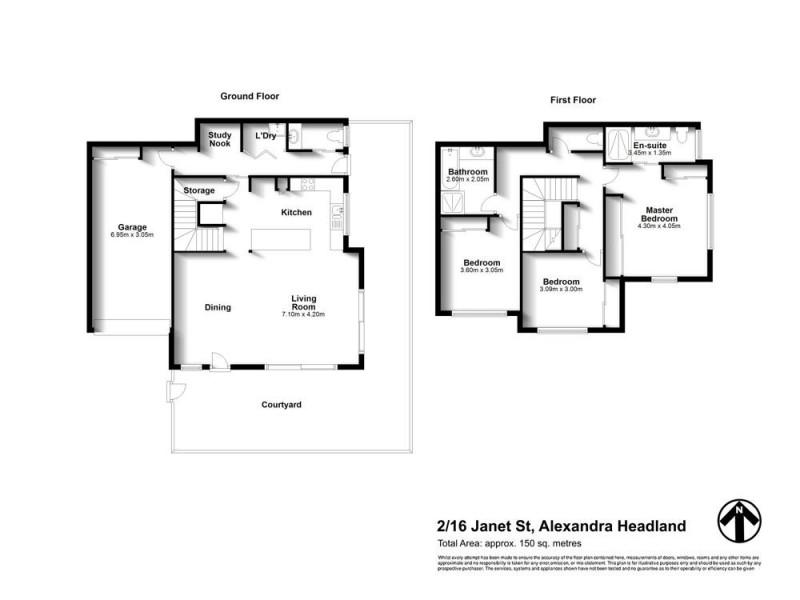 2/16 Janet Street, Alexandra Headland QLD 4572 Floorplan