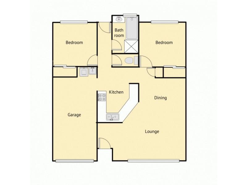 5/38 Milbong Street, Battery Hill QLD 4551 Floorplan