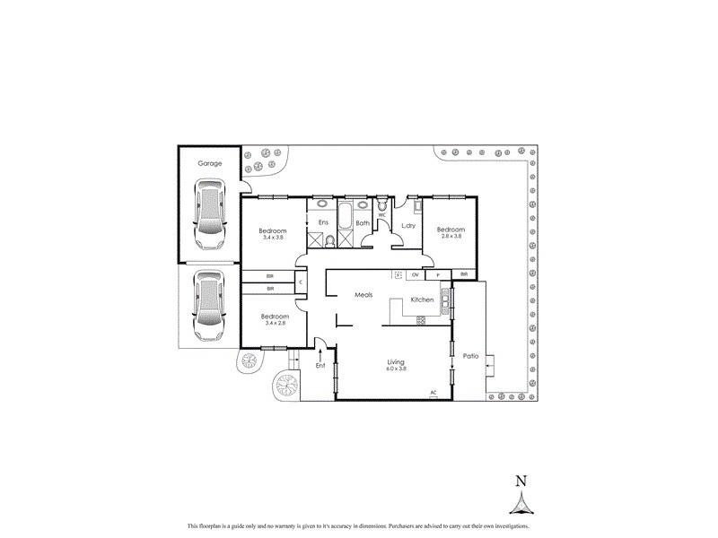 2/1 Eden Street, Cheltenham VIC 3192 Floorplan