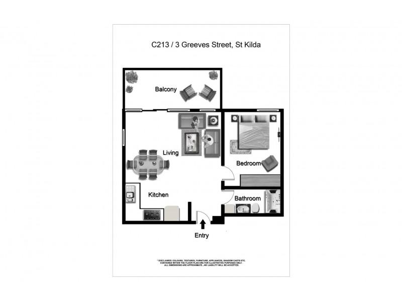 213/3 Greeves Street, St Kilda VIC 3182