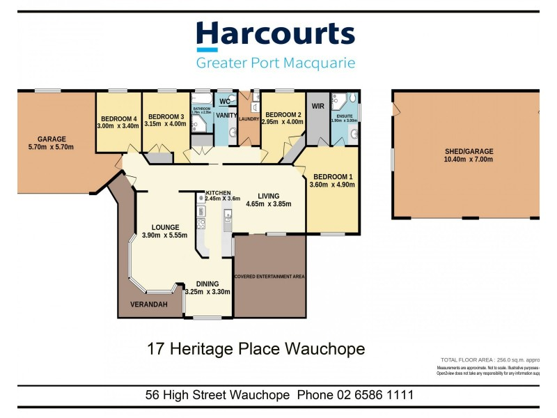 17 Heritage Place, Wauchope NSW 2446 Floorplan