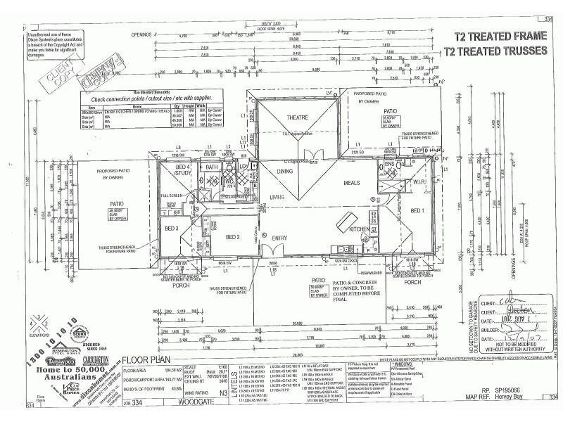 5 Brypat Close, Burrum Heads QLD 4659 Floorplan