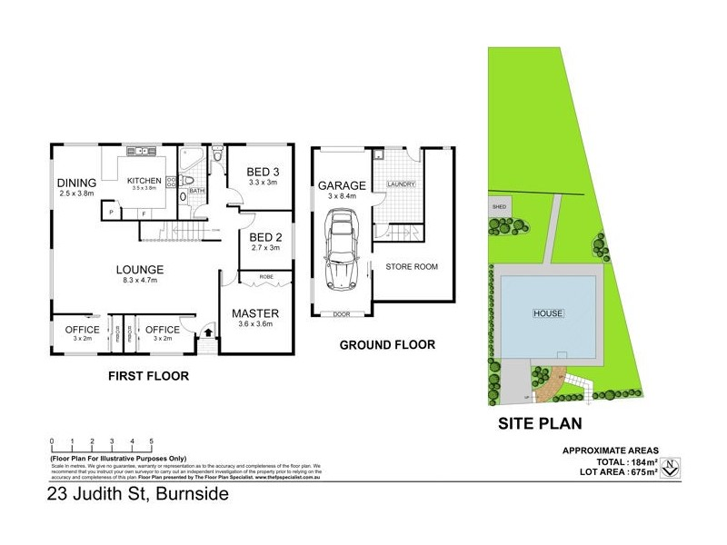 23 Judith St, Burnside QLD 4560 Floorplan