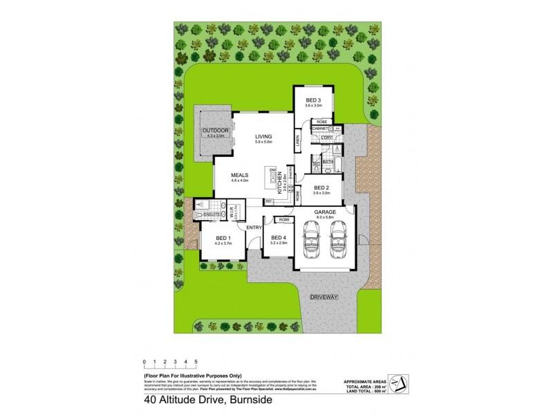 40 Altitude Drive, Burnside QLD 4560 Floorplan