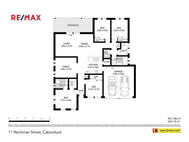 11 Reichman Street, Caboolture QLD 4510 Floorplan