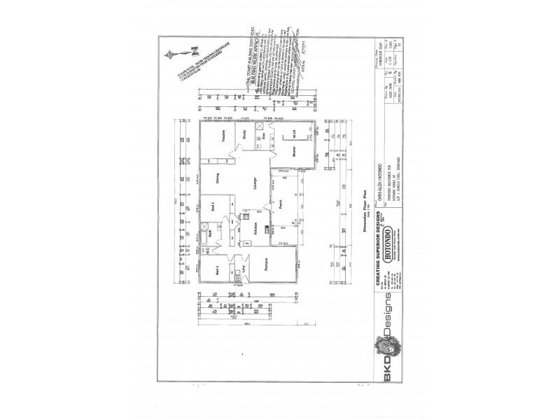 2 Ronald Crescent, Benaraby QLD 4680 Floorplan