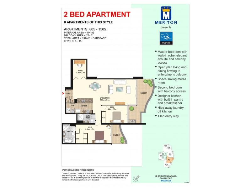 4 Como Crescent, Southport QLD 4215 Floorplan