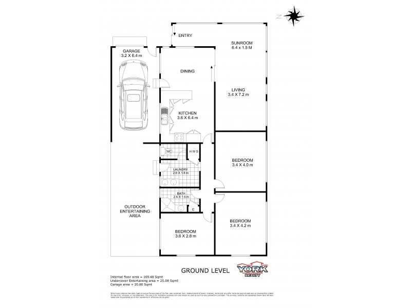 5 Berry Street, Wilsonton QLD 4350 Floorplan