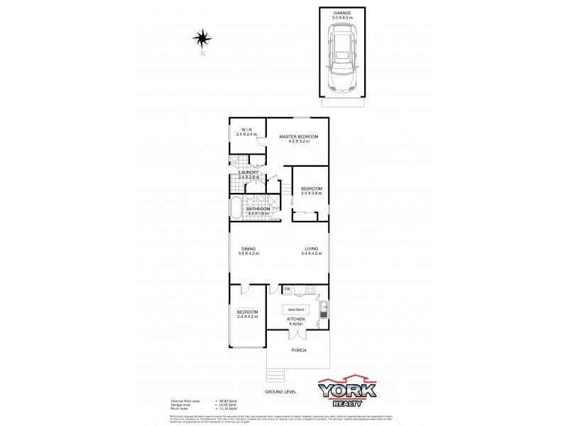 18 Weetwood Street, Newtown QLD 4350 Floorplan