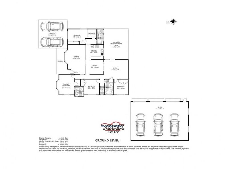 Cambooya QLD 4358 Floorplan