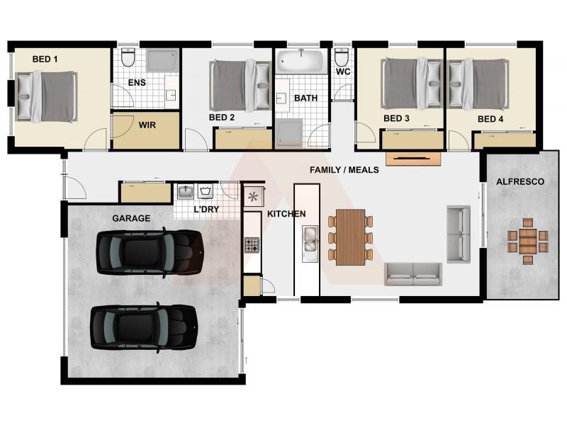 10 Dinnigan Crescent, Durack QLD 4077 Floorplan