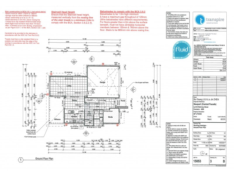 2 Stairway Street, Coomera QLD 4209 Floorplan