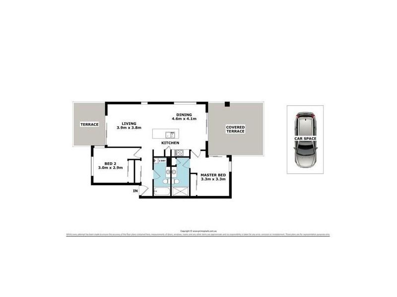 36/1 Linear Drive, Mango Hill QLD 4509 Floorplan