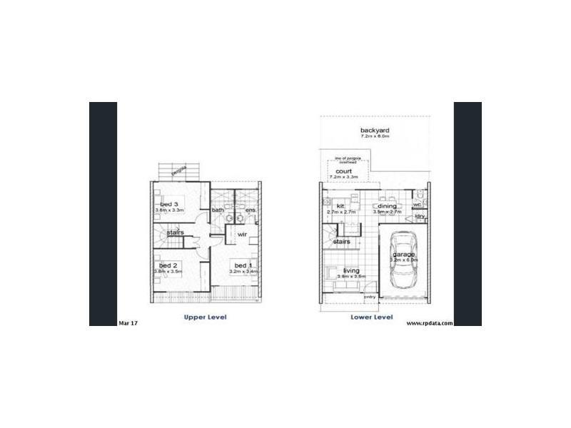 41 1 Linear Drive, Mango Hill QLD 4509 Floorplan