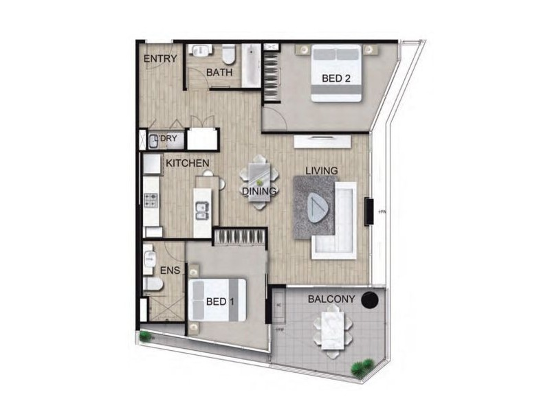 37B Harbour Road, Hamilton QLD 4007 Floorplan