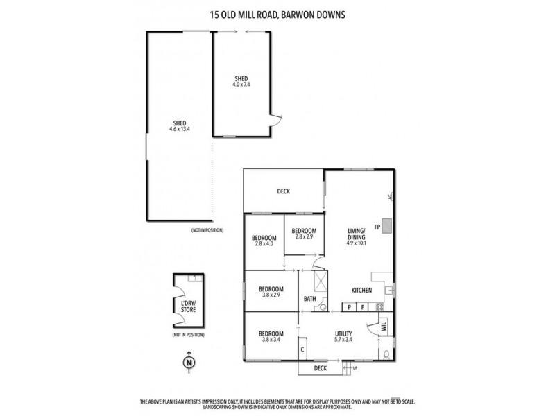 15 Old Mill Road, Barwon Downs VIC 3243 Floorplan