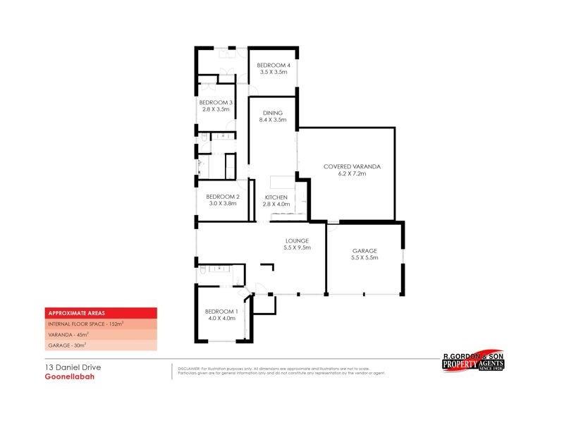 13 Daniel Drive, Goonellabah NSW 2480 Floorplan