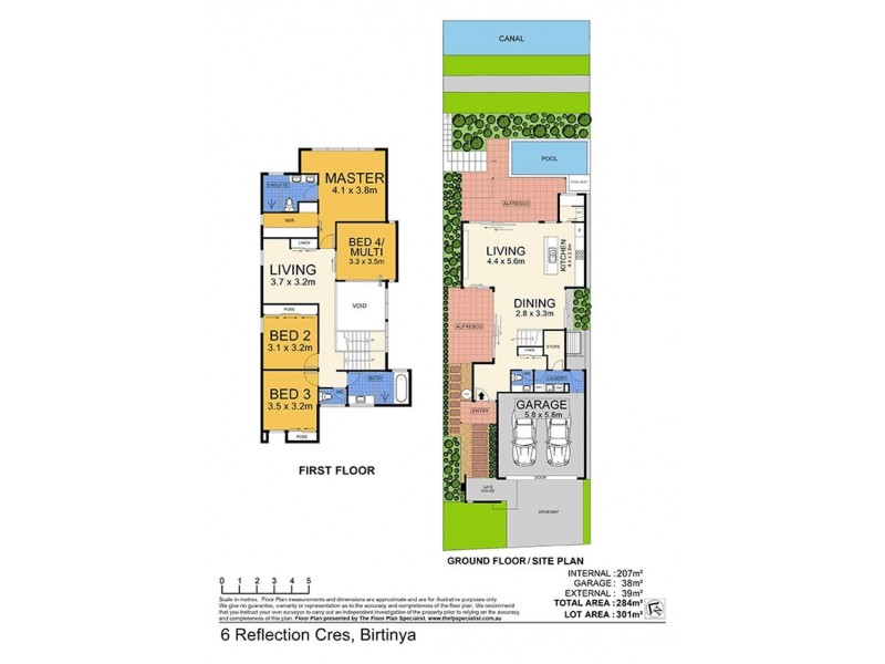 6 Reflection Crescent, Birtinya QLD 4575 Floorplan