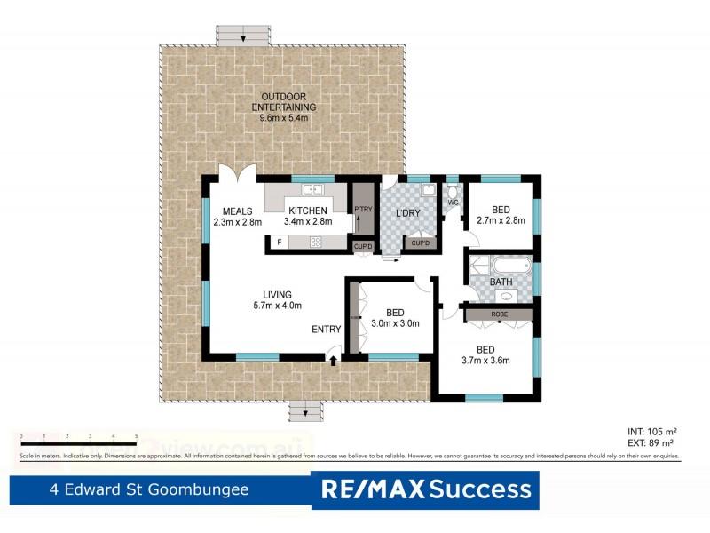 4 Edward Street, Goombungee QLD 4354 Floorplan