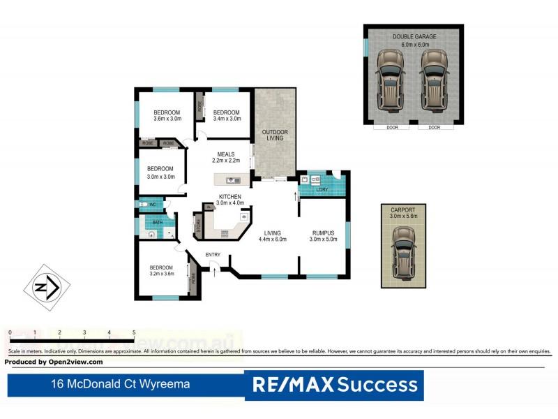 16 McDonald Court, Wyreema QLD 4352 Floorplan