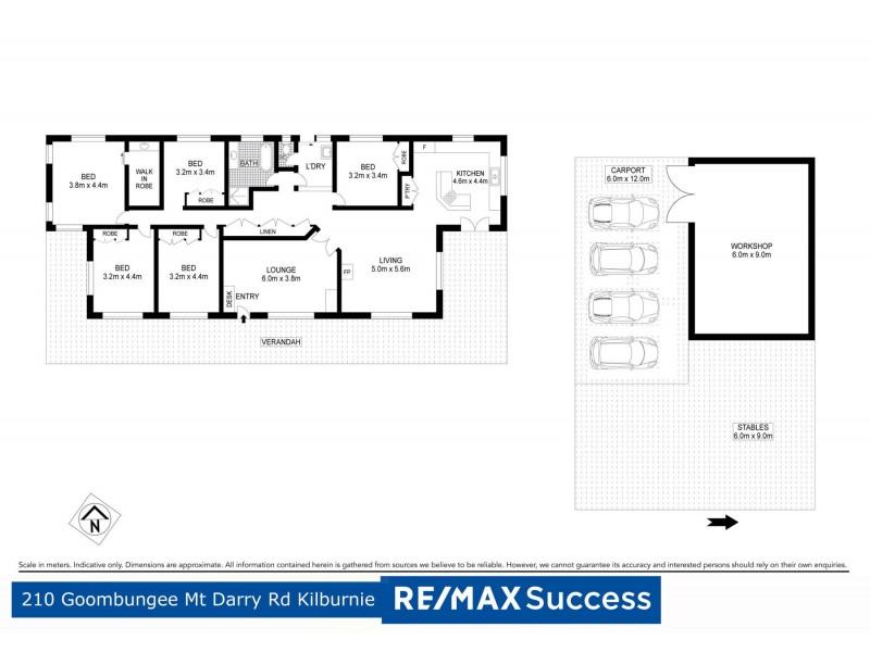 210 Goombungee Mount Darry Road, Kilbirnie QLD 4354 Floorplan