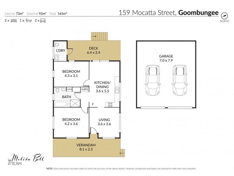 159 Mocatta Street, Goombungee QLD 4354 Floorplan