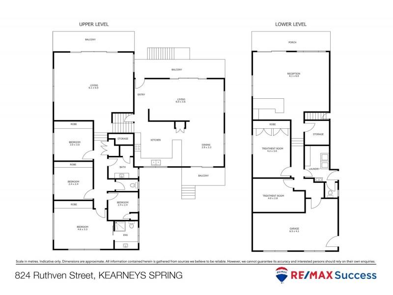 824 Ruthven Street, Kearneys Spring QLD 4350 Floorplan