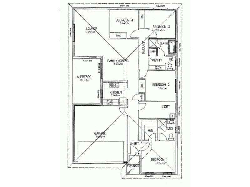 75 Hampden Way, Strathalbyn SA 5255 Floorplan