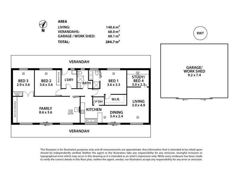 50 Pastoral Road, Dawesley SA 5252 Floorplan