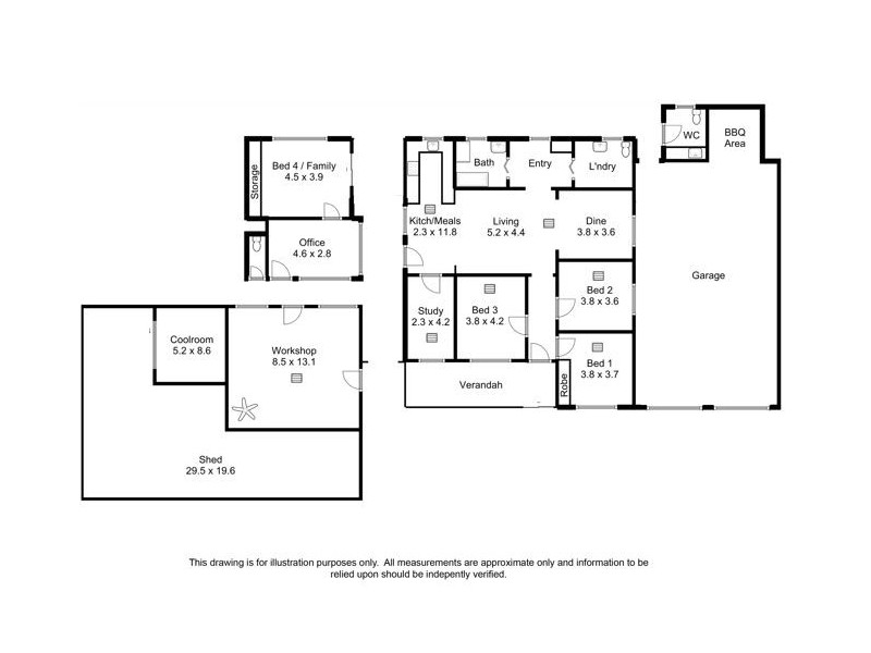 244 Ramco Road, Waikerie SA 5330 Floorplan