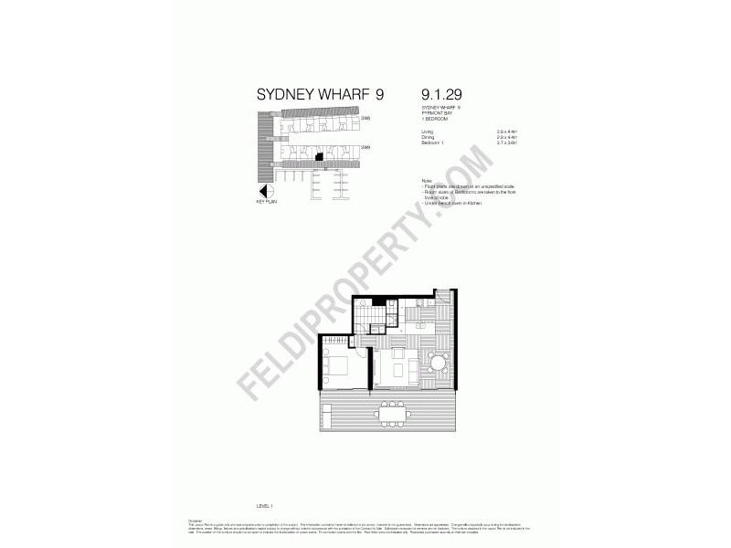Pyrmont NSW 2009 Floorplan