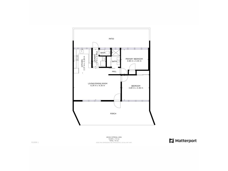 2/50 See Street, Bargara QLD 4670 Floorplan