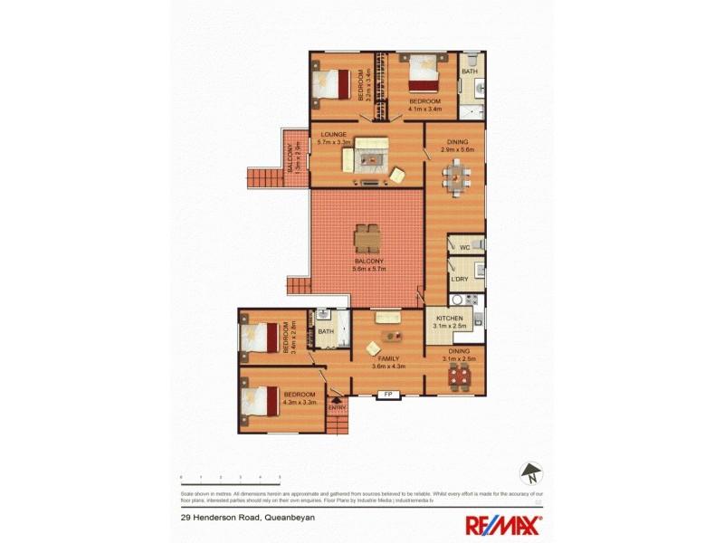 29 Henderson Road, Queanbeyan NSW 2620 Floorplan