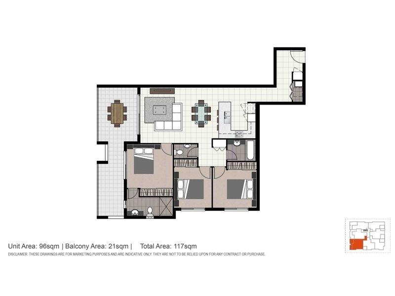 9/26 Laura Street, Lutwyche QLD 4030 Floorplan