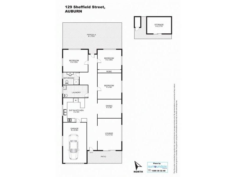 129 Sheffield Street, Auburn NSW 2144 Floorplan