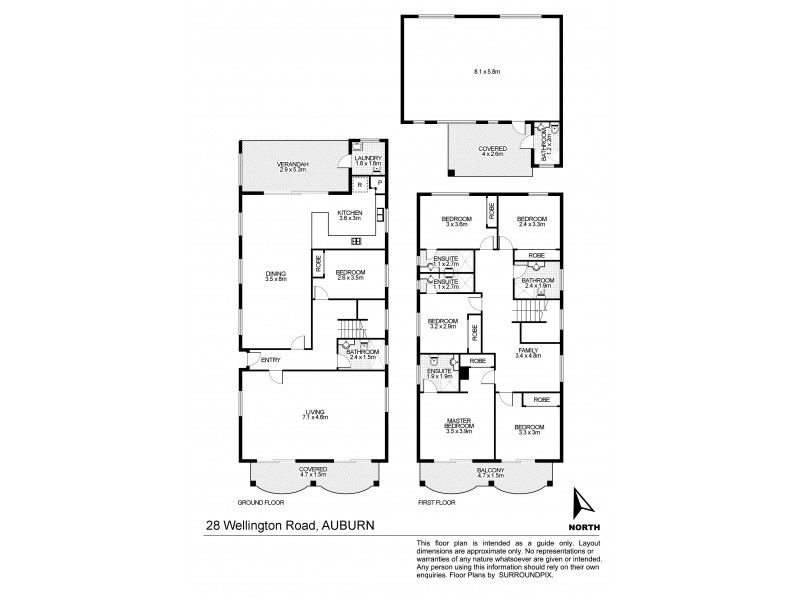 28 Wellington Road, Auburn NSW 2144 Floorplan