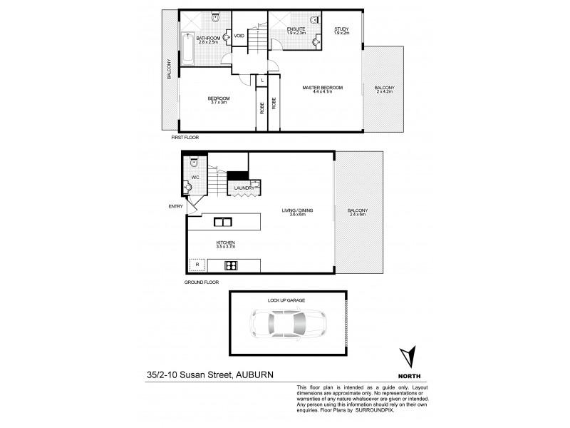 35/2-10 Susan St, Auburn NSW 2144 Floorplan