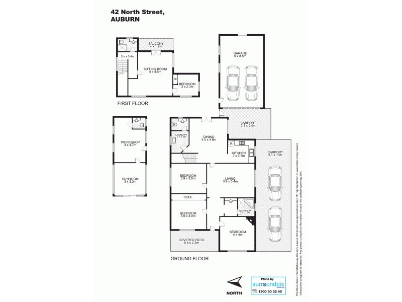42 North St, Auburn NSW 2144 Floorplan
