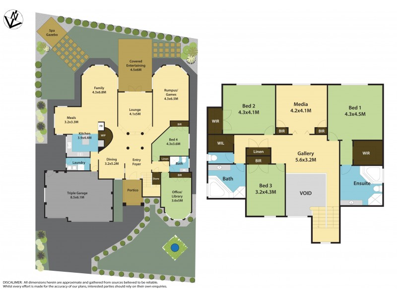 4 Bronzewing Terrace, Bella Vista NSW 2153 Floorplan