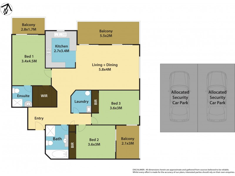16/23 Methven Street, Mount Druitt NSW 2770 Floorplan