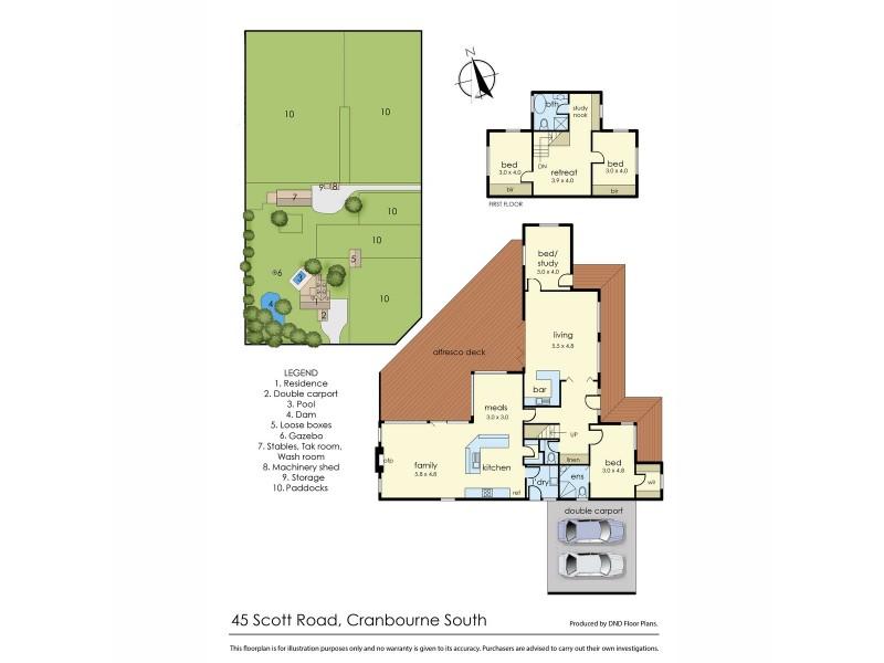 45 Scott Road, Cranbourne South VIC 3977 Floorplan