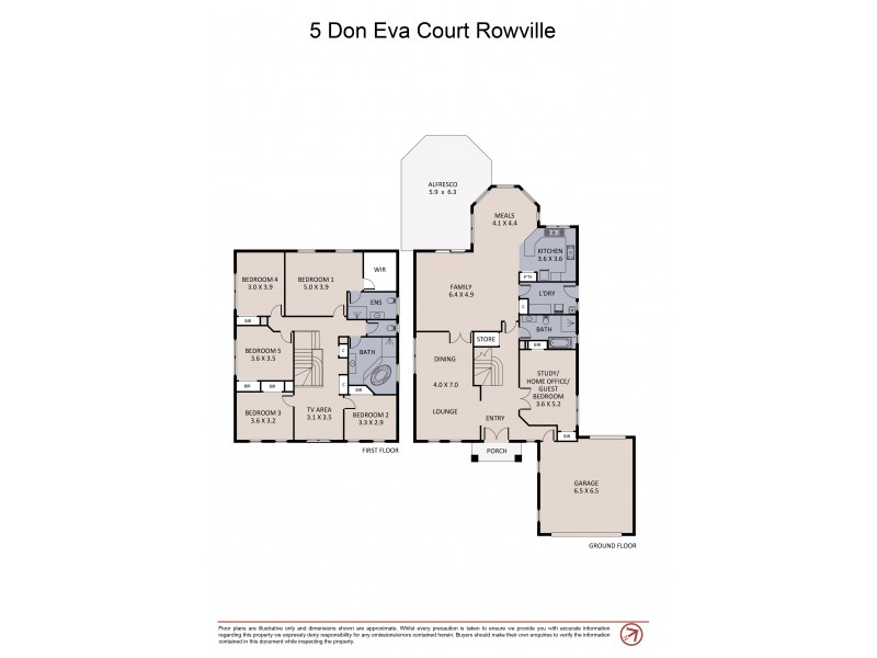 5 Don Eva Court, Rowville VIC 3178 Floorplan