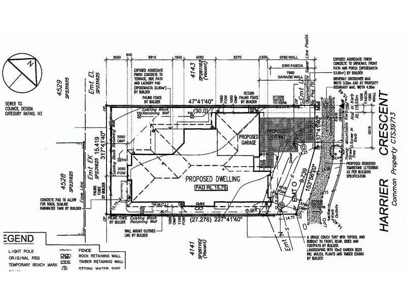 Lot 4142 Harrier Crescent, Peregian Springs QLD 4573 Floorplan