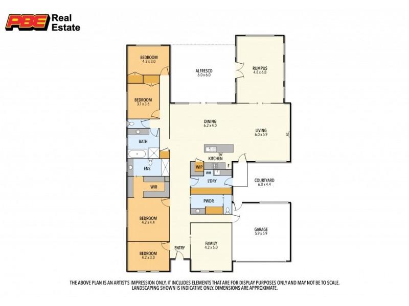 Wonthaggi VIC 3995 Floorplan