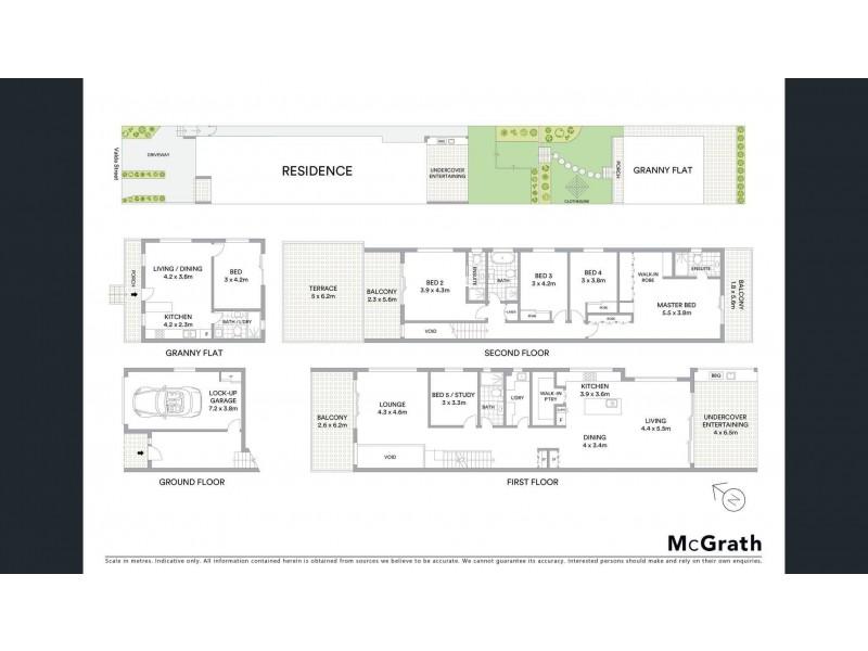 20a Valda Street, Bexley NSW 2207 Floorplan